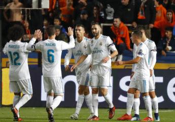 Benzema y Cristiano meten al Real Madrid en octavos de Champions