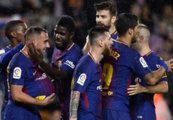 Paco Alcácer saca al Barcelona del problema y vencen al Sevilla