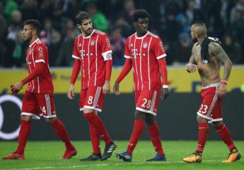 El Bayern de Heynckes pierde el invicto frente al Gladbach