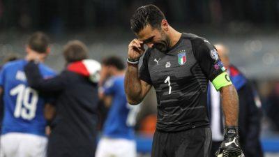 El llanto de un campeón del mundo: Gianluigi Buffon