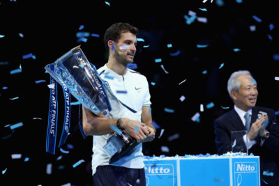 Dimitrov, ganador del Másters, completa el podio ATP tras Nadal y Federer