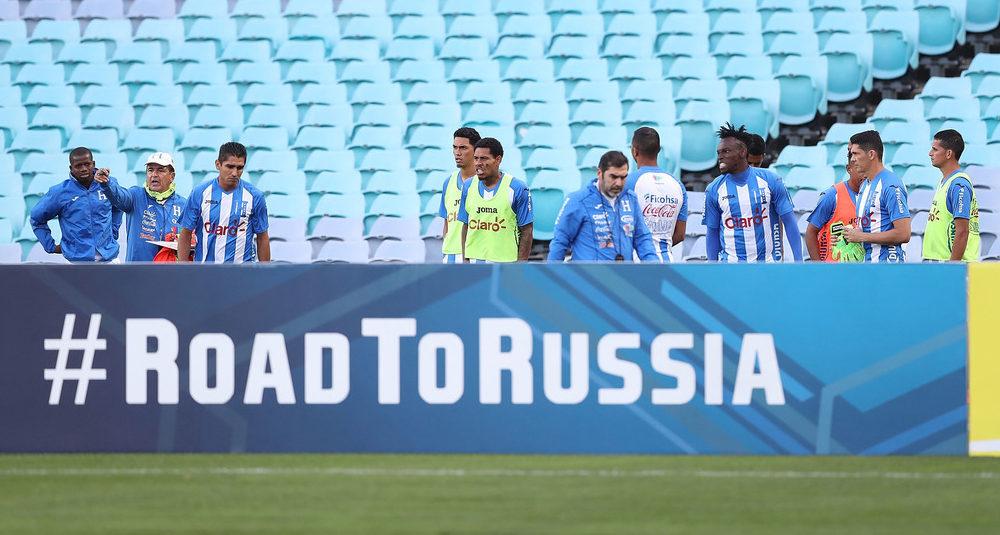 Honduras con una sola misión: clasificar a Rusia 2018