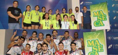 Imdepor y Tela VC se coronan campeones del Clausura de la LVVS