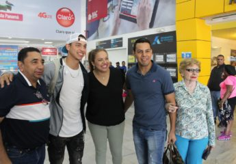 Llegó a Honduras Mauricio Dubón, recién promovido a Grandes Ligas