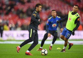 Brasil y Neymar están listos para competir en Rusia 2018