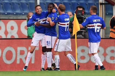 Sampdoria aleja a la Juventus del Scudetto en Italia tras vencerle