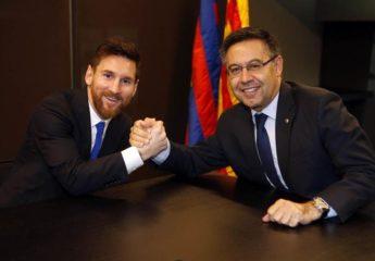 Lionel Messi acabó con el suspenso firmando su renovación
