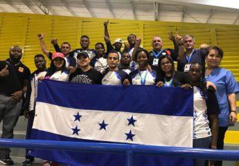 Honduras domina el medallero de Managua 2017 en lucha