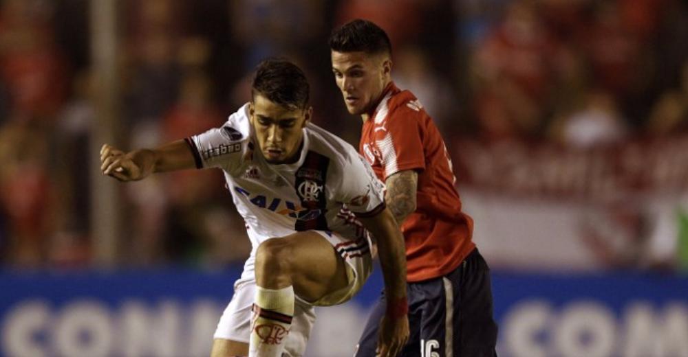 Independiente venció a Flamengo en la ida de la Copa Sudamericana