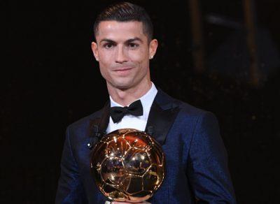 Sin novedades: quinto Balón de Oro para Cristiano Ronaldo