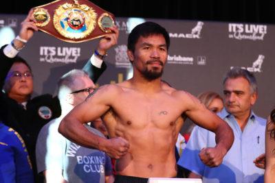 Manny Pacquiao negocia para pelear contra Conor McGregor