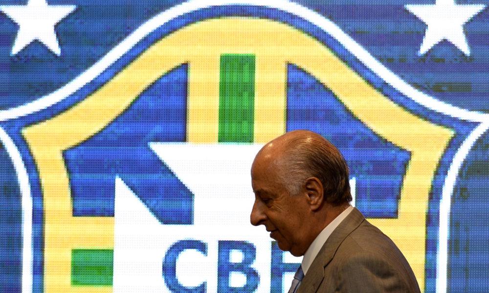 Del Nero, jefe del fútbol brasileño, es suspendido por la FIFA