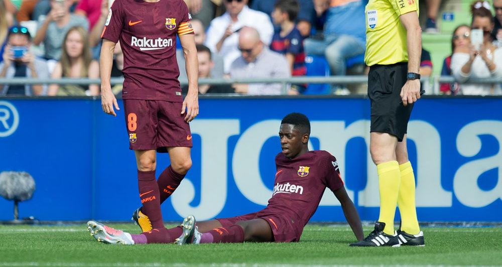 Ousmane Dembélé retoma los entrenamientos con el Barça