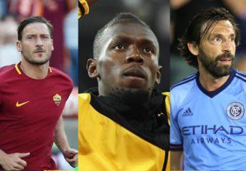 Bolt, Pirlo y Totti entre las leyendas del deporte que se retiraron en 2017