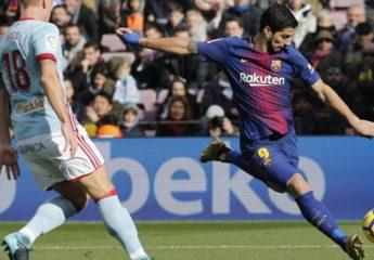 Celta revive la LaLiga con empate frente al Barca en el Camp Nou