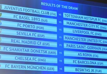 Real Madrid y Barcelona con rivales duros en octavos de Champions
