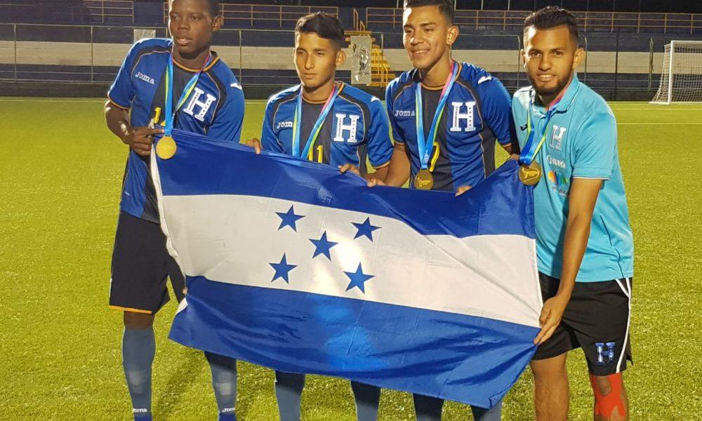 Honduras revalida su título de campeón centroamericano de fútbol