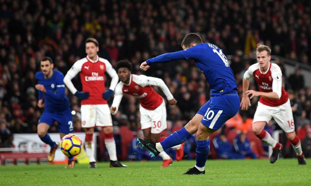Arsenal empató en la agonía del partido al Chelsea en el derby londinense