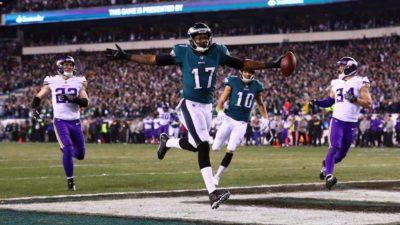 Y las Águilas de Filadelfia serán rivales de los Pats en el Super Bowl 52