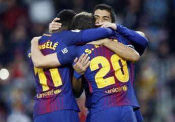 Barcelona y sus astros casi sin sudar, mantiene distancia en España
