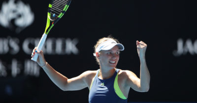 Wozniacki contra Halep, final en Australia entre las dos mejores