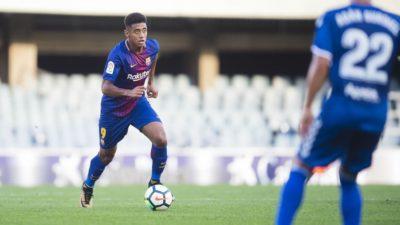 Oficial: Anthony Lozano es traspasado del Barca B al Girona de LaLiga