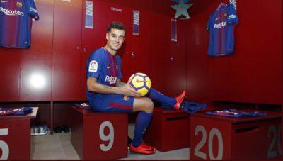 Coutinho se junta con sus nuevos compañeros en el Barcelona