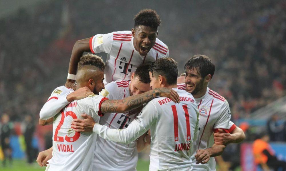 Bayern vence al Leverkusen en el regreso de la Bundesliga