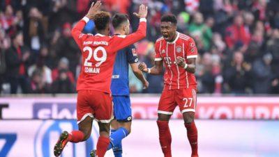 Este Bayern nadie lo pone contra las cuerdas. Hoffenheim nueva víctima