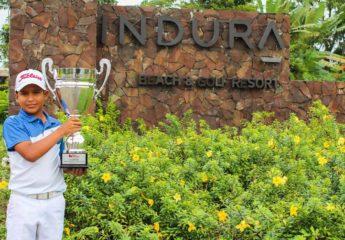 Malaquías Vargas, el futuro del golf catracho, está ya dando frutos