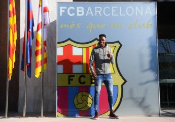 Yerry Mina pasa examen médico y se suma al plantel del FC Barcelona