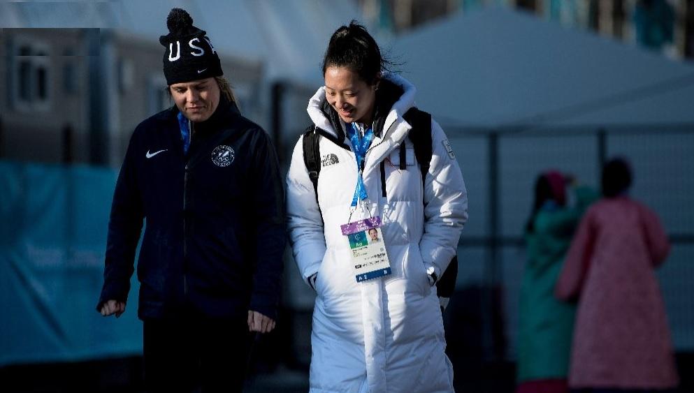 Hermanas pero compitiendo para EUA y Corea en las Olimpiadas de Invierno