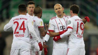 Bayern en semis de Pokal a paso fuerte; Leverkusen sufre frente al Werder