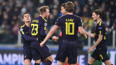 """Tottenham impone su juego a la Juventus de """"Gigi"""" y """"Pipita"""""""