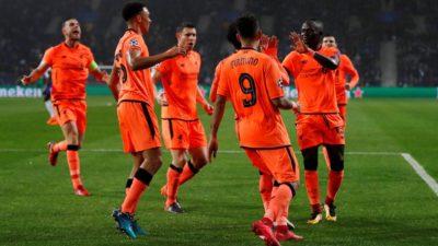 El Liverpool de Klopp le meten paliza al Porto en Lisboa