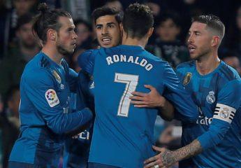 Real Madrid saca su clase en el Villamarín y golea al Betis