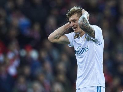 Toni Kroos sufre un esguince de rodilla y es baja en el Madrid