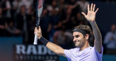 Roger Federer, a dos victorias del número 1 del mundo
