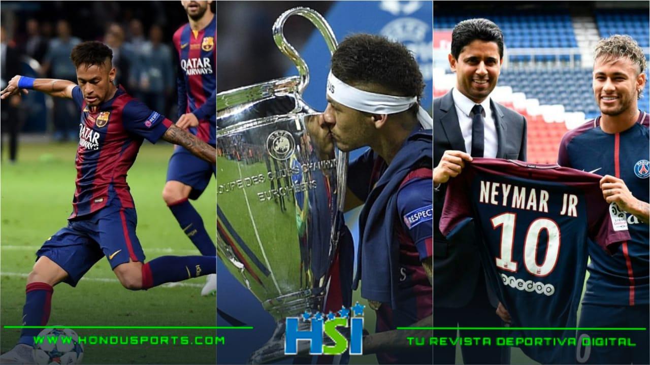 Neymar Jr a su segunda final de UEFA Champions League
