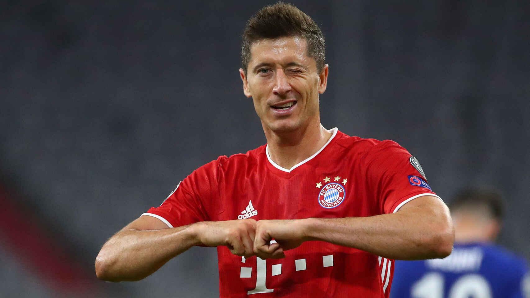 Robert Lewandowski Cuarto Máximo Goleador Histórico De La Champions League